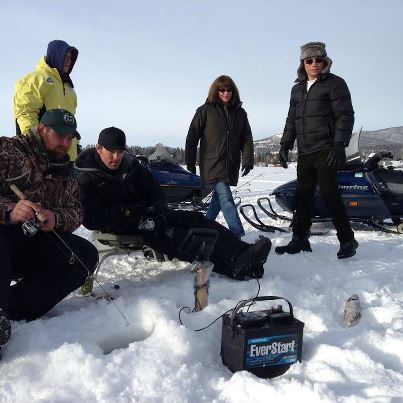 Ice Fishing with Anthony Melchiorri, host of Travel Channel's Hotel Impossible