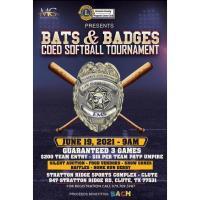 Bats & Badges: Coeds softball tournament