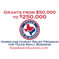 News Release: Hurricane Harvey Relief Program for Texas' Small Businesses