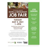 Pearland Hotel & Restaurant Job Fair Announced For May 4, 2021