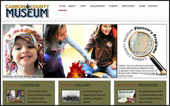 Carbon County Museum Website