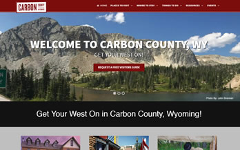 Carbon County Visitors Council Website