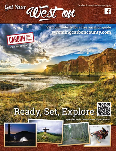 Full Page Magazine Ad for Carbon County Visitors Council