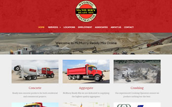 McMurry Ready Mix Website