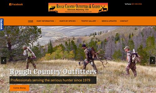 Rough Country Outfitters Website