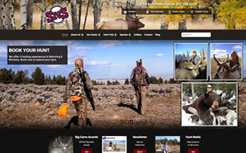SnS Outfitters Website