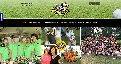 Wildcatters Golf Tourament Website