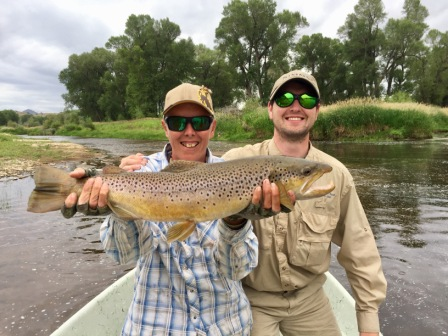Jack's Big Brown and Pete McConnell, guide