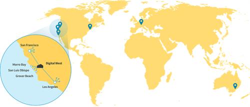 Data Centers Across the Globe