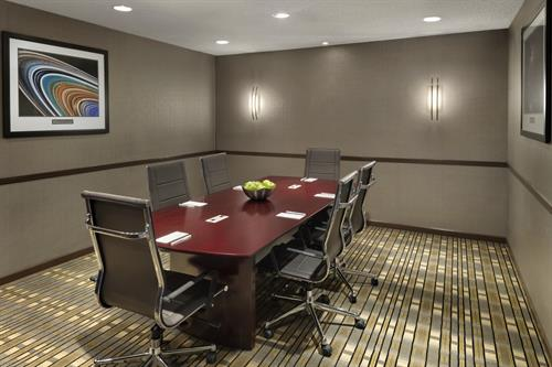 Our Galaxy Boardroom is Great for Small Meetings