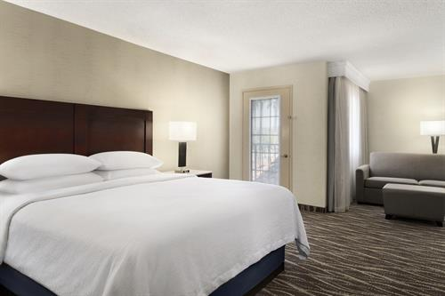 Our Renovated Executive King Suites have Extra Space