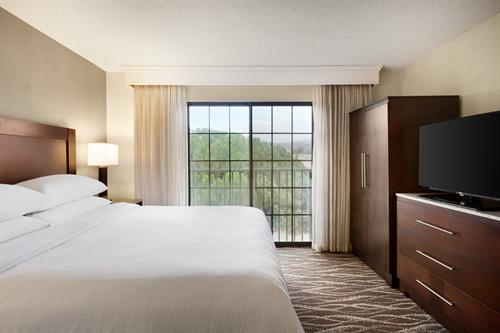 Our Newly Renovated King Suites are Spacious with Some Great Views