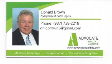 Advocate Health C/O Donald Brown