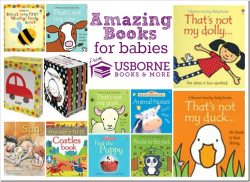 We have amazing books for your baby, these are a few of my favorites. You can purchase any of these and more on my website www.ReadTogetherEveryDay.com