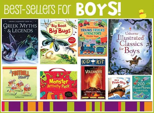 Best sellers for all the boys out there...  www.ReadTogetherEveryDay.com