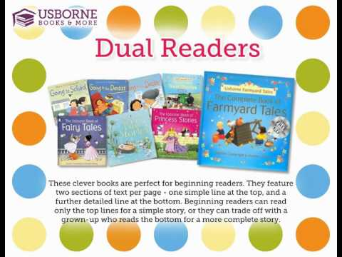 Information about our amazing Dual Readers.  Help your child learn to read with these amazing books!