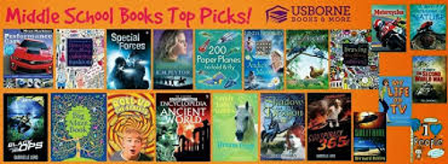 The top fiction books for Middle Schoolers, if you want to learn more about these series or to puchase them go to  www.ReadTogetherEveryDay.com