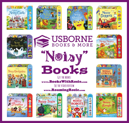 Looking for that perfect gift for any child?  These Noisy books are not only great fun for children but educational at the same time.