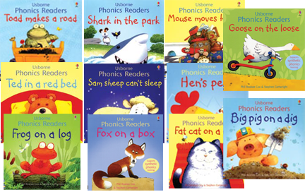 Our amazing phonics readers.  These also have our dual reader feature in them.  A top line of text for the parent to read, and a bottom line of easy text for your early reader to read.  This make the stories more real to the child and also lets them feel apart of the reading.