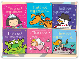 "Here are just some of our ""That's Not My"" Seriers, these are full of fun textures to feel and explore."