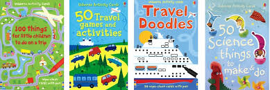 Some of our Travel books, going on a trip soon?  Purchase one or all of these to keep your children occupied while traveling!