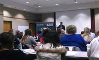 Senator LaHood at Peoria Center with Leadership School
