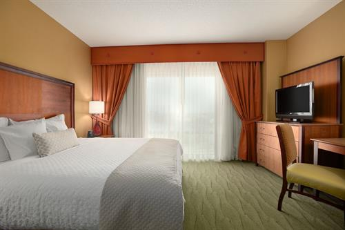 Guest Suite with two double beds