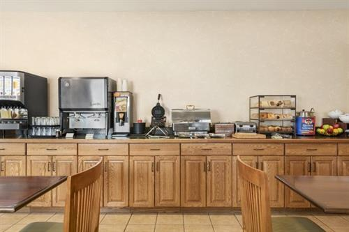 Complimentary breakfast buffet is included in your stay