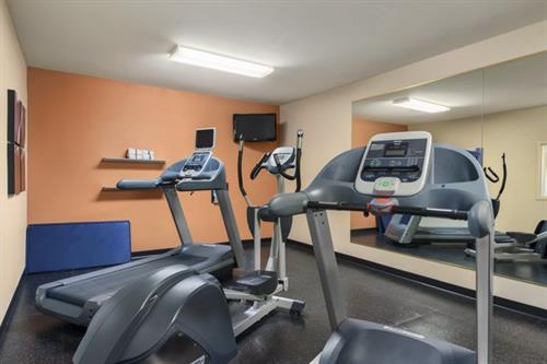 Fully equipped fitness center