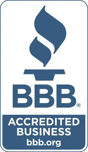 We have an A+ rating with the BBB