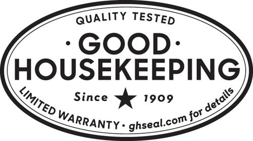 We have earned the Good Housekeeping Seal on ALL of our core products!