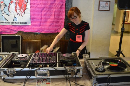 CHIRP DJs spin at events