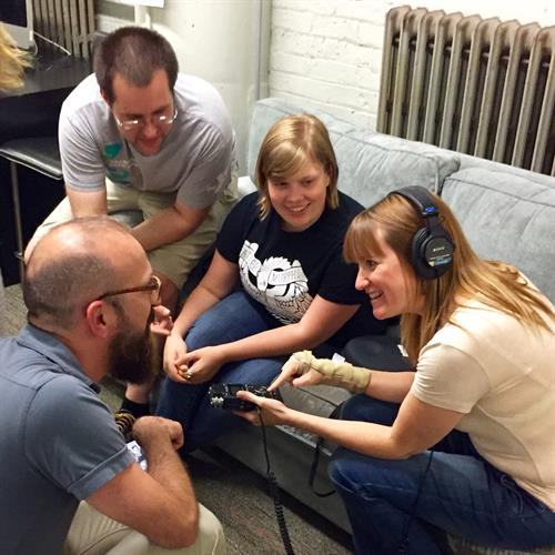 CHIRP trains volunteers interested in broadcasting