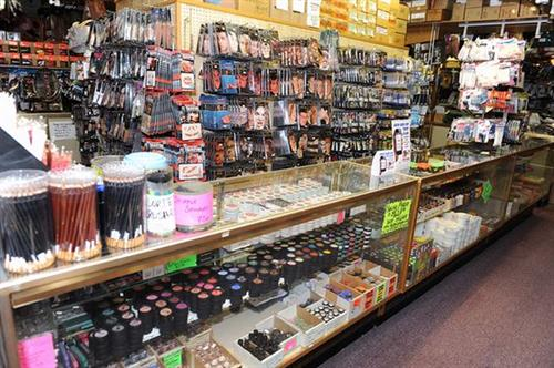 Our professional makeup selection with top brands like Ben Nye and Graftobian. Both for beauty and costume makeup.
