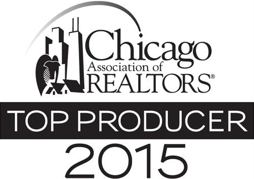 Top Producer 2015 - Chicago Association of Realtors