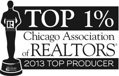 Top 1% Producer - 2013 - Chicago Association of Realtors