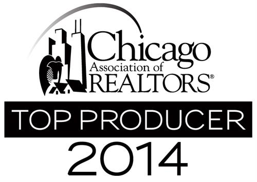 Top Producer 2014 - Chicago Association of Realtors