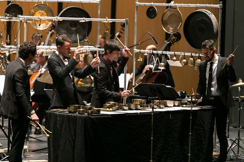 TCP performs with the Chicago Philharmonic. Photo by Elliot Mandel