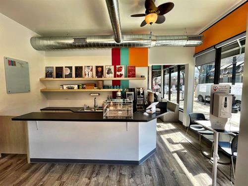 Coffee Shop featuring Groundswell Coffee and Mindful Baking Baked Goods