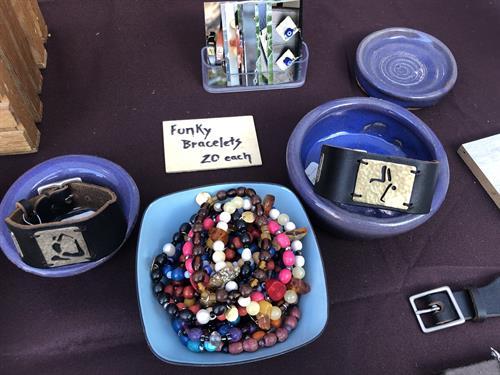 Funky bracelets