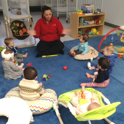 Infant circle time