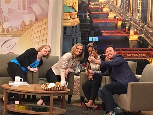 Client Pay Your Selfie on Windy City Live