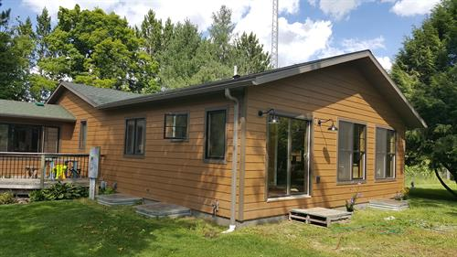Addition we did near Trout Lake
