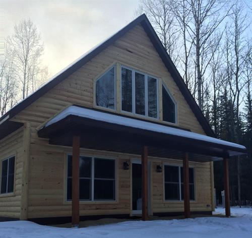 Cabin we did near Effie