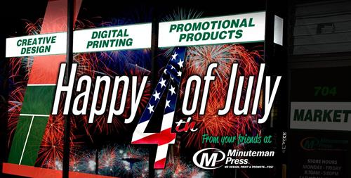 Wishing everyone a safe, healthy, and happy July 4th holiday! Have a great weekend!  *WE WILL BE CLOSED ON MONDAY, JULY 5TH* #July4th #IndependenceDay #IndependenceDay2021 For your convenience, our online services are available,  24/7 365 days a year with pricing at your fingertips!  https://www.beavercreekminutemanpress.com/