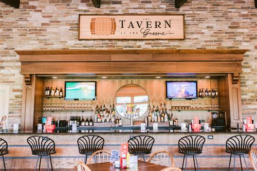 Renovated Bar at The Tavern at the Greene
