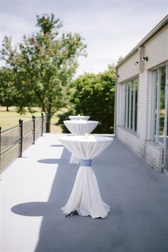 Patio for Reception