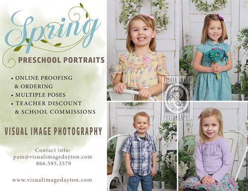 Spring 2020 Preschool Portrait Info