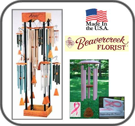 Wind Chimes - Made in the USA !
