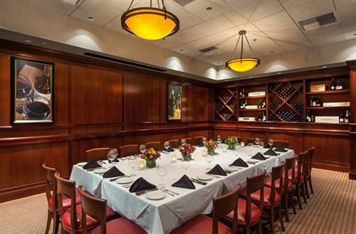 Intimate Private Dining Options for events